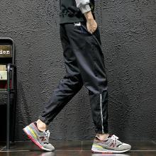 搭歌 2019春夏新款迷彩休闲裤长裤男士加大码宽松哈伦裤韩版潮裤子 hk40da022