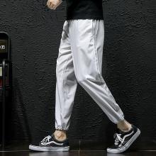 搭歌 2019春夏新款休闲长裤大码宽松哈伦小脚裤男式裤子 hk63da022