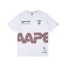 Aape 潮牌 新款字母印花短袖T恤 男女同款 AAPTEM2968XXA