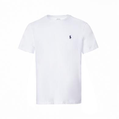 [支持購物卡]美國正品 POLO Ralph Lauren 拉夫勞倫男裝夏季短袖經典小馬標T恤衫白色修身版
