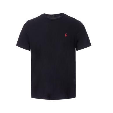 [支持购物卡]美国正品 POLO Ralph Lauren 拉夫劳伦男装夏季短袖经典小马标T恤衫黑色