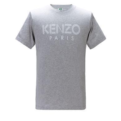 [支持購物卡]KENZO/高田賢三 字母印花 男款T恤 F955TS0924SG