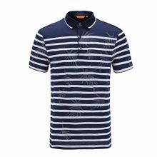 夏季絲光棉polo衫短袖保羅衫1820