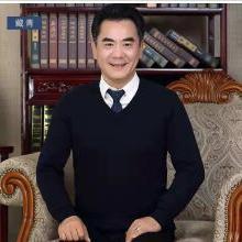 姝奕中年羊毛衫男V領爸爸毛衣40-50歲冬中老年加厚針織衫KYZ530