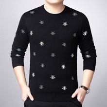 梵蒂?#21943;?#30007;装羊毛衫加厚冬季款毛衣青年休闲针织衫017865