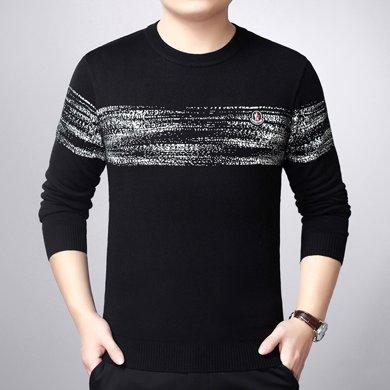 梵蒂古琦男裝羊毛衫加厚冬季新款毛衣青年休閑針織衫017839