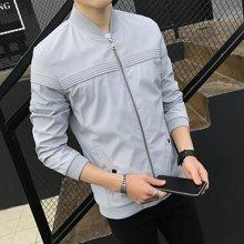 卓狼春秋季男装夹克青年修身韩版新款薄款男士外套潮J8626