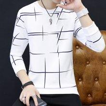 卓狼卫衣男 男士春秋季新款韩版修身潮流休闲圆领套头青年上衣外套W03YT