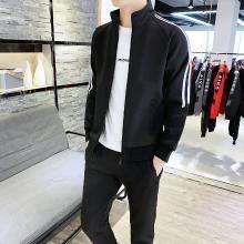 DupuSen度普森运动外套男两件套春季2019新款韩版潮流卫衣男士休闲套装男装春装CY-105