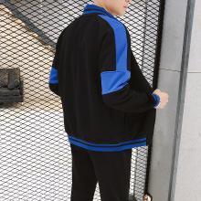DupuSen度普森学生套装两件套运动套装韩版跑步套装两件套情侣套装百搭休闲套装长袖套装两件套AP-9191