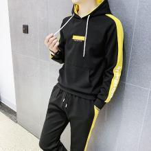 DupuSen度普森学生套装两件套运动套装两件套跑步套装两件套情侣套装两件套休闲套装两件套长袖套装两件套WM-107