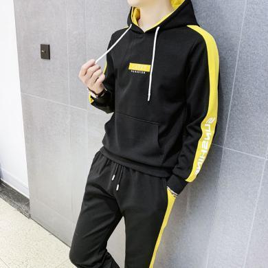 DupuSen度普森學生套裝兩件套運動套裝兩件套跑步套裝兩件套情侶套裝兩件套休閑套裝兩件套長袖套裝兩件套WM-107