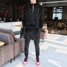 DupuSen度普森学生套装两件套运动套装潮流跑步套装两件套情侣套装韩版休闲套装两件套长袖套装日系WM-939