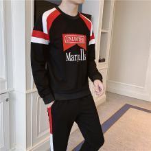 DupuSen度普森学生套装两件套运动套装百搭跑步套装韩版情侣套装两件套休闲套装日系长袖套装两件套RK-TZ603
