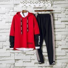 DupuSen度普森学生套装两件套运动套装两件套跑步套装两件套情侣套装两件套休闲套装两件套长袖套装两件套AP-9161