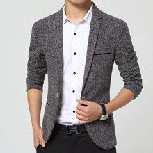 魔力怪车 四季新款韩版休闲男士西服修身青年小西装外套男士西装
