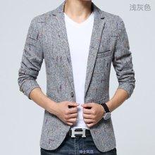 花花公子贵宾  四季新款韩版修身薄款休闲西服英伦男士西装上衣小西装外套