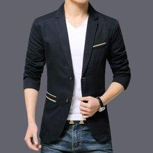 魔力怪车 2018春季新款韩版修身男士长袖大码男装西服外套 GZ12809