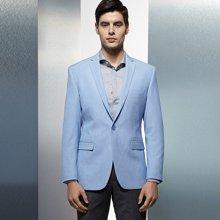 Evanhome/艾梵之家 春季新款男士商务休闲西服外套 韩版修身款西服男EVXF052