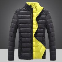 战地吉普 冬季新款男士轻薄款羽绒服男装羽绒夹克男羽绒棉服外套