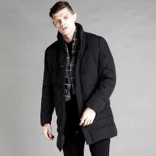 富贵鸟男装冬季新款中长款立领冬装保暖加厚外套男士羽绒服潮FA88071