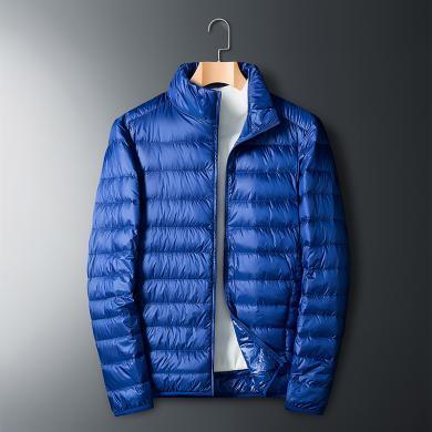富贵鸟男装秋冬新款男六色羽绒服保暖外套男短款轻薄保暖羽绒服F16018