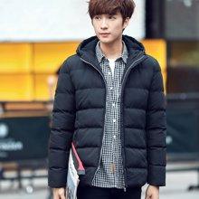 卓狼新款冬季男士棉衣韩版潮短款外套冬天青年棉服男装棉袄M8981