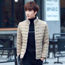 卓狼冬季新款棉衣青年立领男士外套棉袄子修身加厚棉服潮M6887