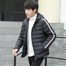 卓狼冬季棉衣男加厚冬装棉服新款男士外套韩版学生潮流帅气棉袄子M9008CY