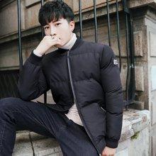 卓狼男士棉衣冬季新款韩版修身潮流棉服短款棉袄冬装外套帅气衣服M1797QG