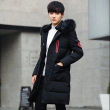卓狼男士棉衣外套冬季新款棉服冬装韩版潮流帅气中长款休闲棉袄厚M1826HX
