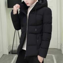 花花公子贵宾 冬季新款男装加厚棉衣时尚棉服休闲男式连帽外套
