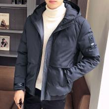 战地吉普 冬季新款连帽棉服男修身青少年休闲潮流棉衣外套男士棉服