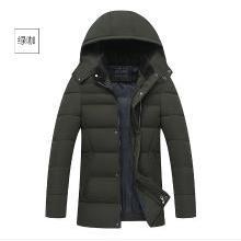 芃拉中老年人男裝棉衣中年男士加厚加絨棉服爸爸冬季大碼休閑外套KYZ165