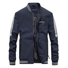戰地吉普 秋冬裝新款休閑立領皮衣外套男士PU皮棒球領潮男夾克衫