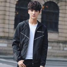 姝奕实拍男士新款夹克韩版修身帅气休闲外套青少年潮流男装LDZ16036