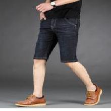 姝奕男款夏季新款牛?#21368;?#35044;微弹力棉牛仔裤男七分裤修身时尚CLPL1051