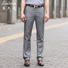 蓝天龙新品 聚脂纤维商务休闲长裤 4734