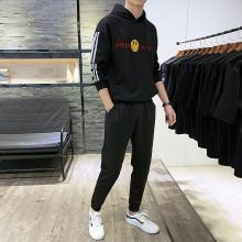 度普森长袖套装男长袖套装新款2019两件套男士日系情侣装运动长袖套装健身长袖套装跑步套装运动服长袖套装ZL-6029