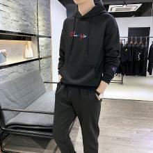 [新品]度普森长袖套装男长袖套装两件套男士潮流情侣装运动长袖套装健身长袖套装跑步套装运动服长袖套装ZL-6039