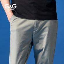 G&G cargo男士褲子工裝褲男潮牌束腳韓版潮流休閑百搭青年九分褲