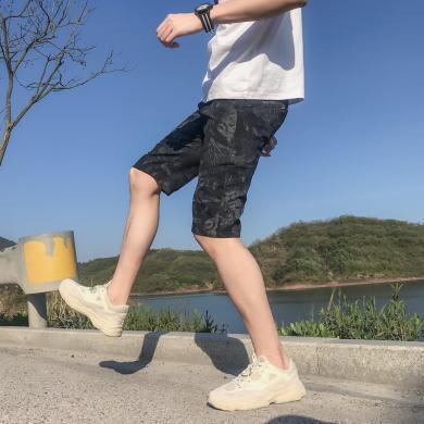 姝奕跑步訓練運動休閑速干透氣短褲五分褲BM-AK02