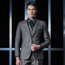 Evanhome/艾梵之家 商务修身款西装男套装职业西装三件套男士正装小西服外套EVXF099