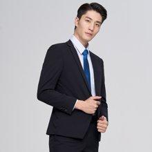 才子男裝 西服套裝時尚修身休閑套西新郎結婚禮服青年小西裝工裝西服套裝 207115071