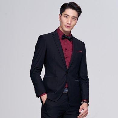 才子男裝 商務休閑西服套裝新郎結婚禮服晚宴活動正裝套西小西裝 207113271