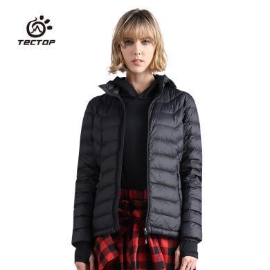 TECTOP/探拓 冬季戶外防風羽絨服女款輕盈羽絨內膽外套羽絨衣