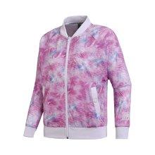 李宁外套女士新款运动时尚系列长袖立领宽松女装夏季运动服AFDN086