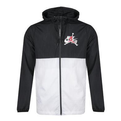 Nike耐克男子运动服拉链连帽拼接外套夹克CK2218-010