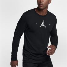 Nike Air Jordan 籃球運動衫長袖T恤 878387-010