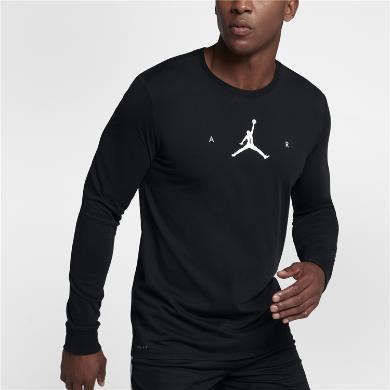 Nike Air Jordan 篮球运动衫长袖T恤 878387-010